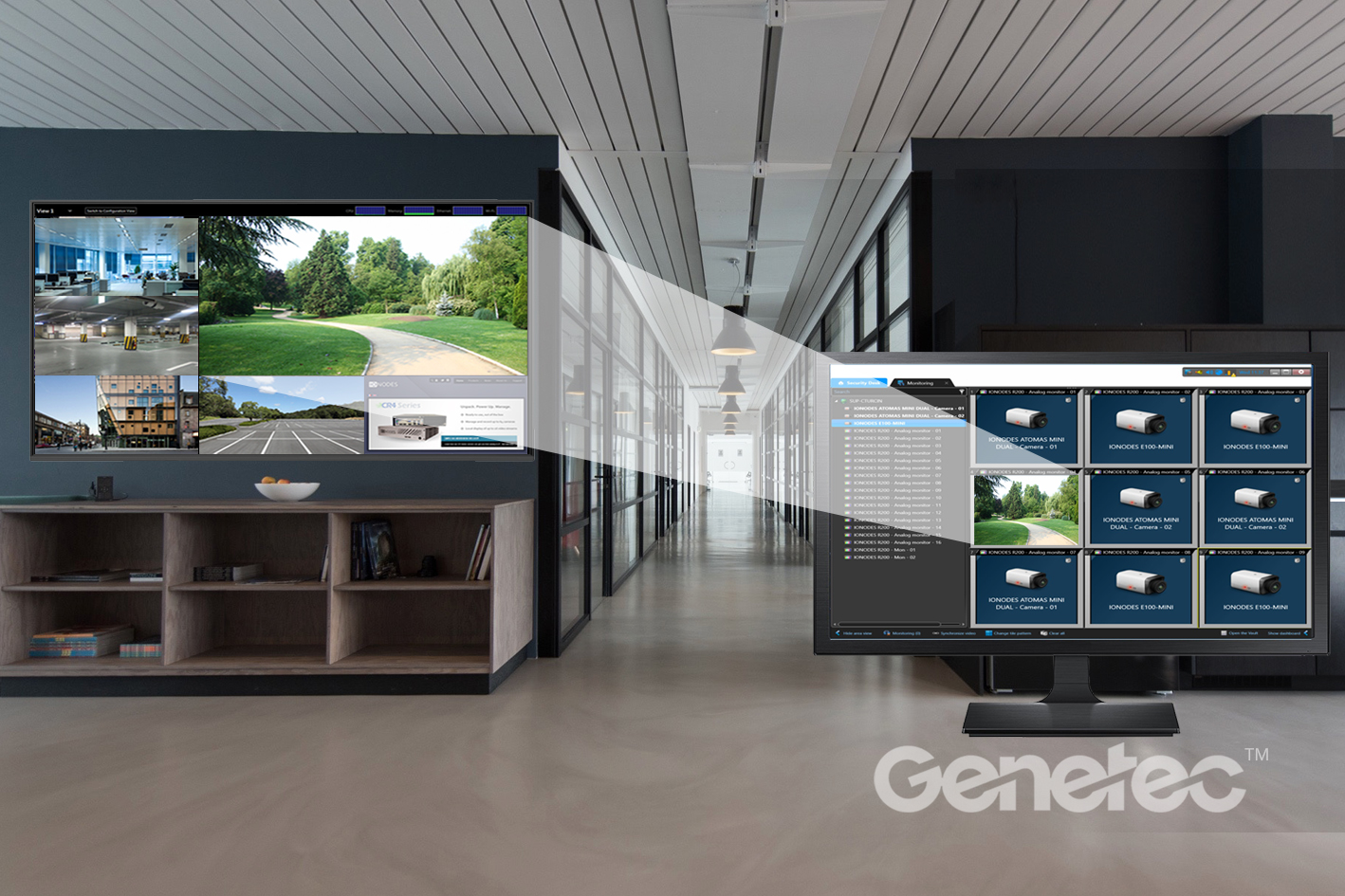 Application Note: Management of remote displays with Genetec™