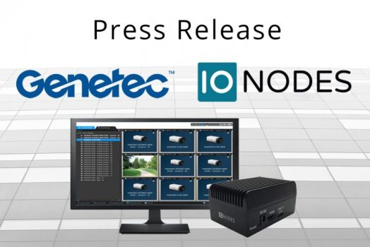 Press Release: IONODES Announces Integration with Genetec for Secure Display Stations
