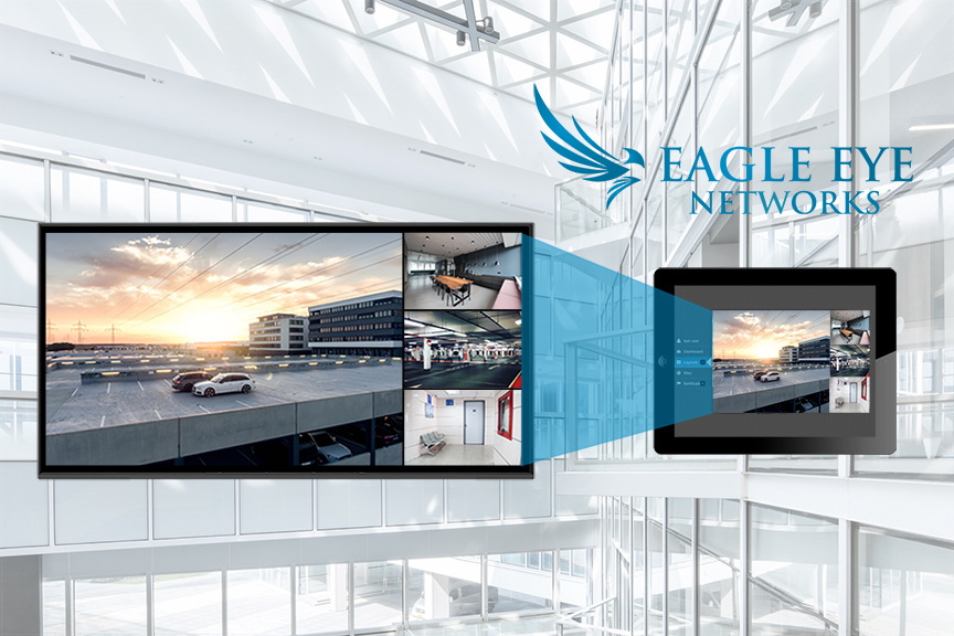 Application Note: Local live video wall using Eagle Eye Networks