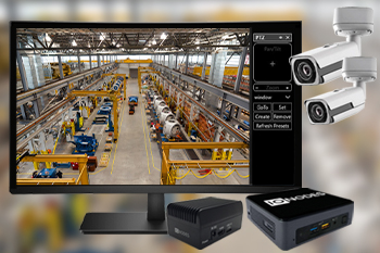 Secure Display Stations now allow control of PTZ cameras