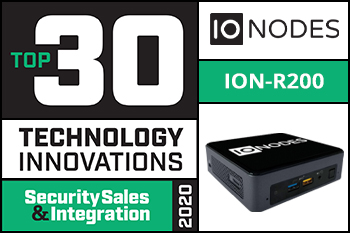 Press Release: Security Sales & Integration has selected the ION-R200 as part of the top 30 technology innovations
